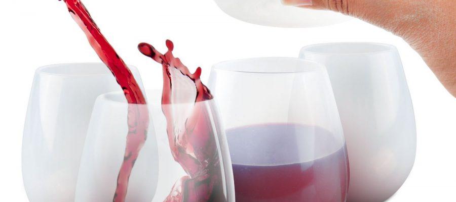 Silikon - Weinglaeser