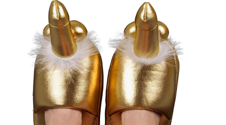 Goldene Penispuschen